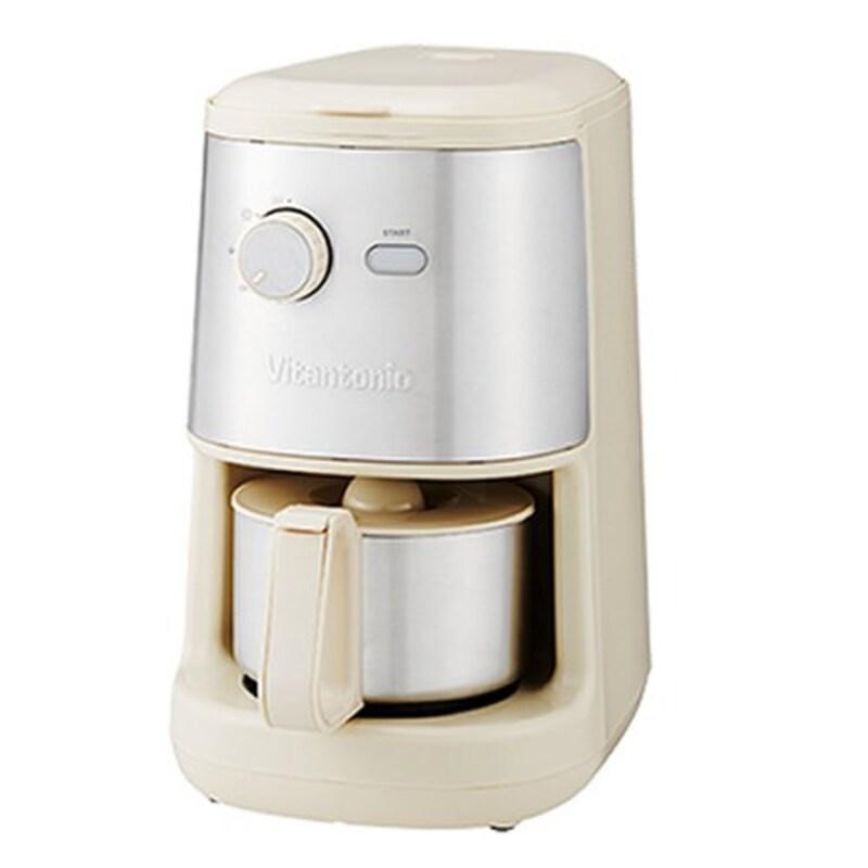 Vitantonio,全自動コーヒーメーカー アイボリー,VCD-200
