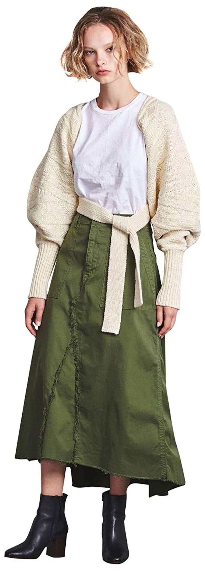 ユナイテッドアローズ  YANUK チノ フレアスカート