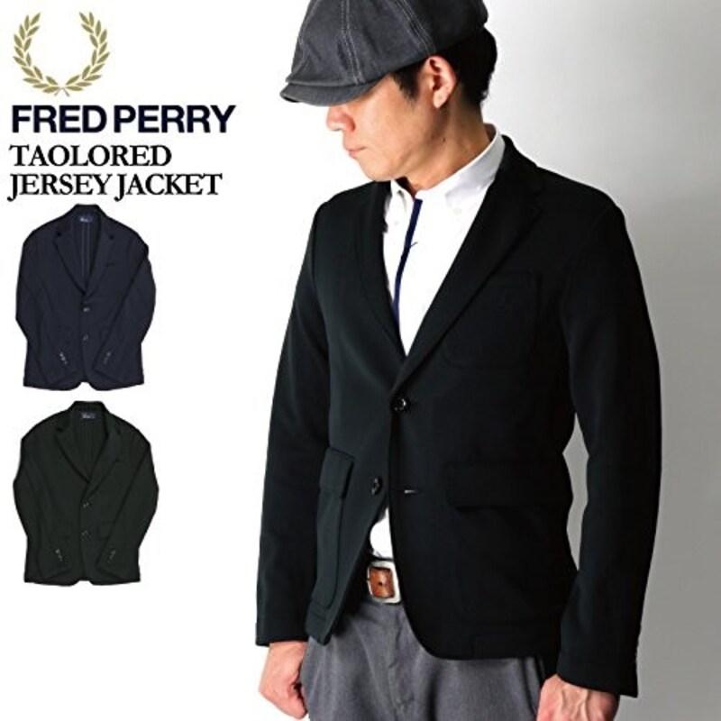 フレッドペリー ジャージージャケット