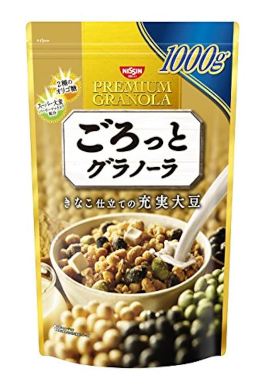 日清シスコ ごろっとグラノーラ きなこ仕立ての充実大豆