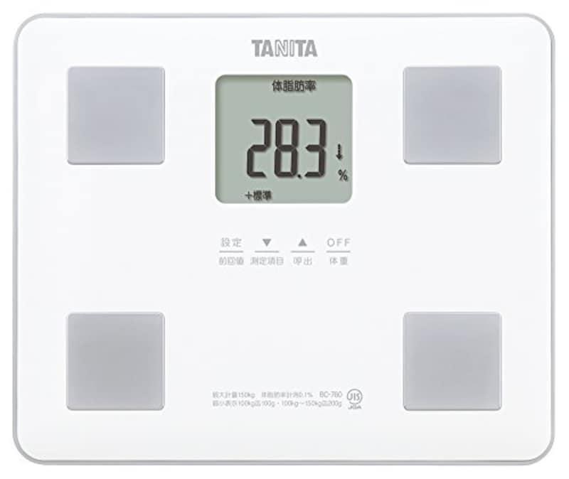 TANITA(タニタ),体組成計,BC-760-WH