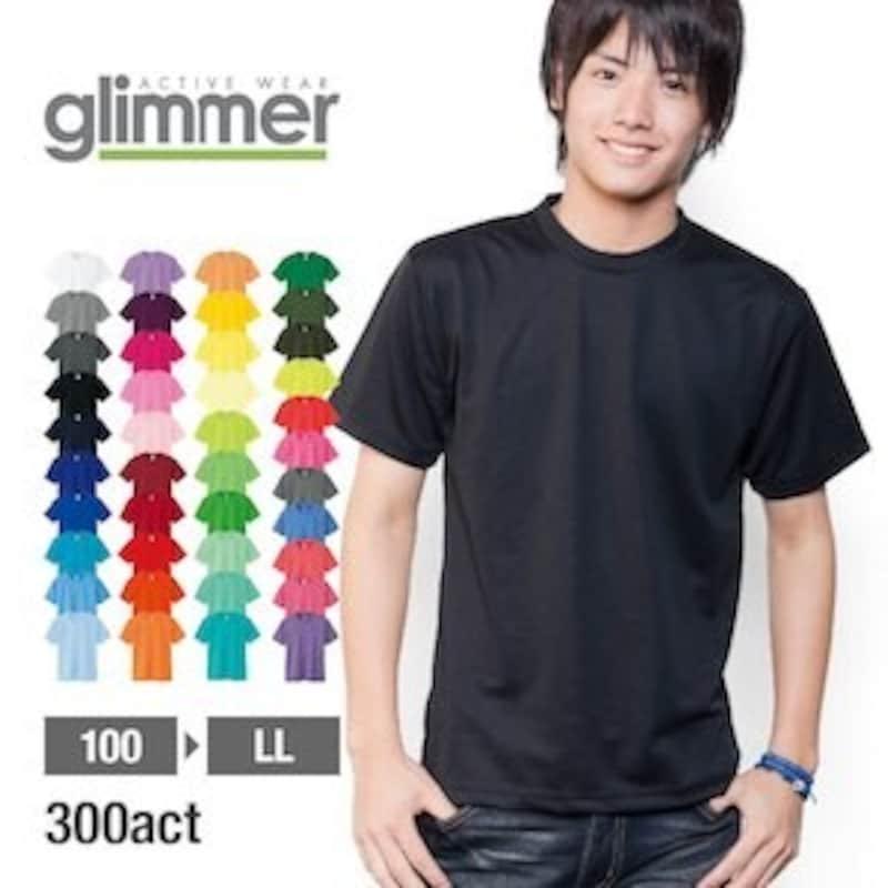 GLIMMER(グリマー),ドライTシャツ