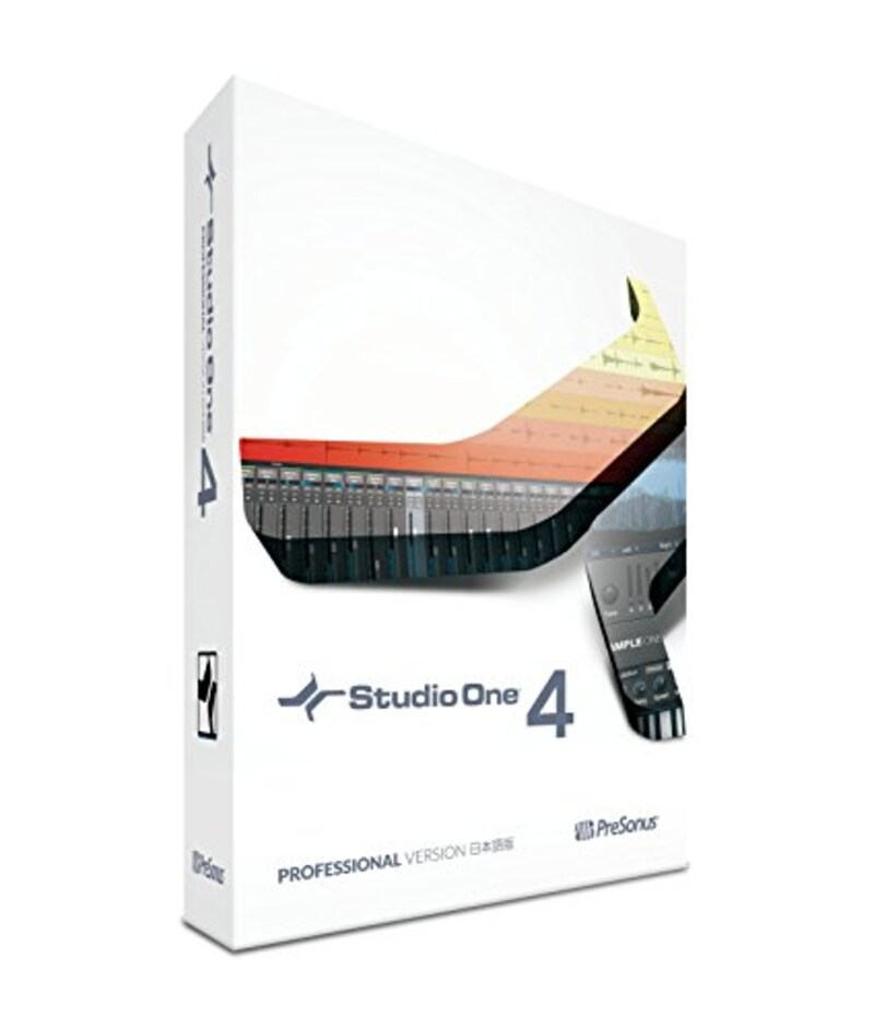PreSonus(プレソナス),DAWソフトウェア Studio One 4 Professional 日本語版