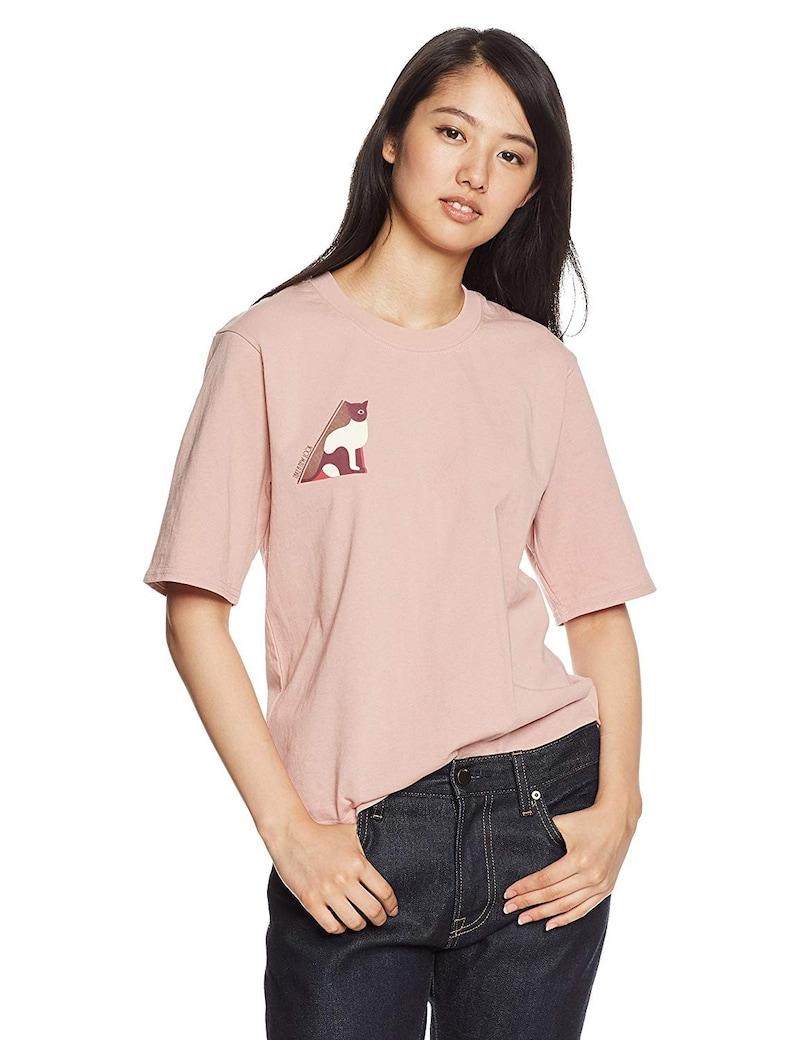 リリーブラウン Cat柄Tシャツ