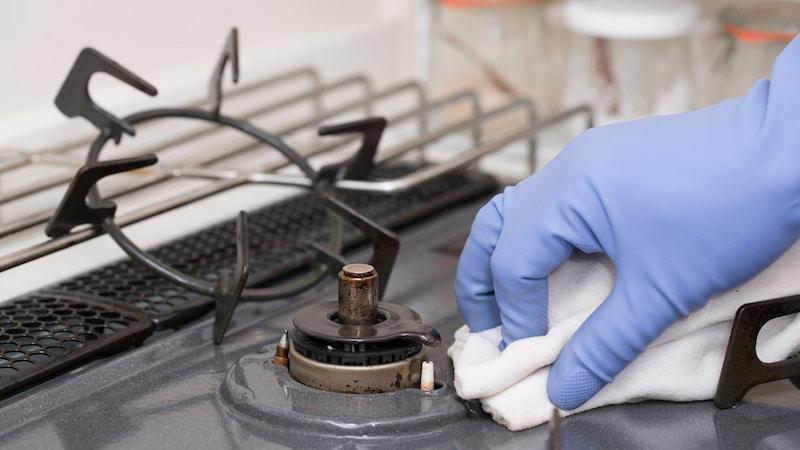 コンロ 掃除