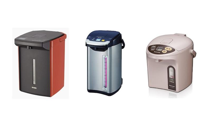長時間の保温・適温調整には電気ポット!おすすめ6選