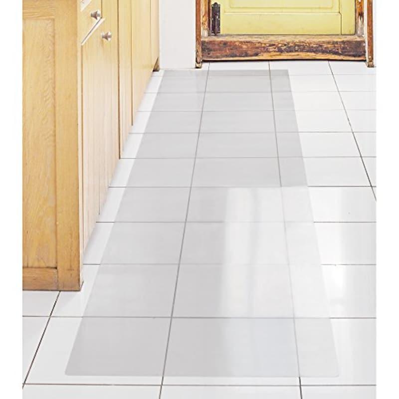 アキレス 透明キッチンフロアマット