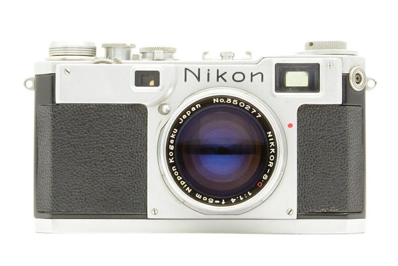 Nikon ニコン S2 613万台 前期型 + NIKKOR-S.C 5cm F1.4 【中古】