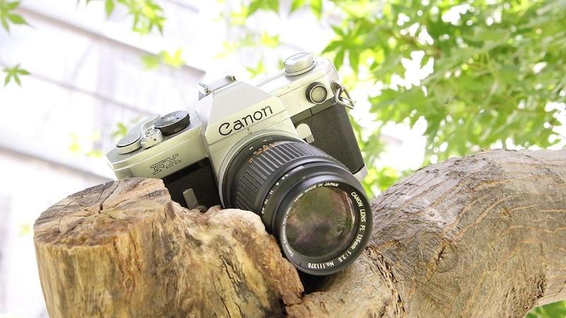 人気再燃のフィルムカメラ、一眼レフは入門者に最適!