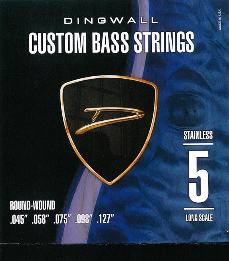 DINGWALL,DINGWALL CUSTOM BASS STRINGS [STAINLESS 5ST] SET ROUND-WOUND .045-.127