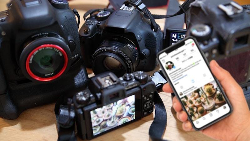 インスタ映えする写真を撮るならこれ!おすすめのカメラ7選