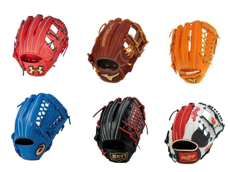 軟式野球のグローブの選び方と型付け方法、おすすめメーカー8選