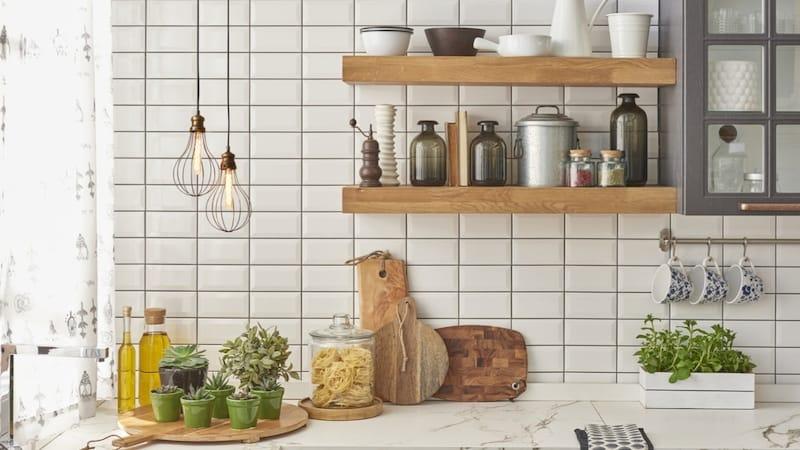 キッチンをタイルでおしゃれに!やり方と簡単DIY実例6