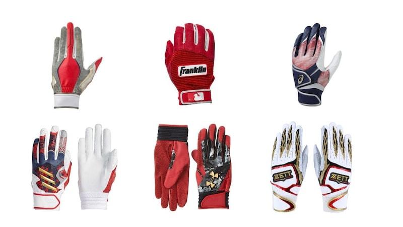 野球のバッティンググローブ(手袋)おすすめ11選|選び方や人気メーカーの紹介など