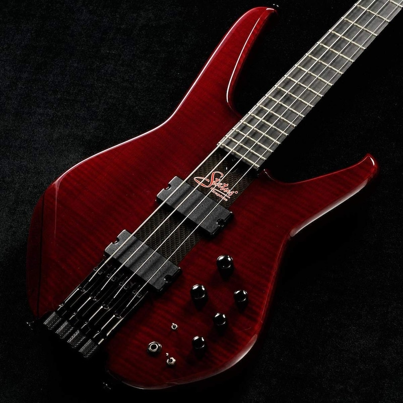 Status Graphite / S2-Classic Headless 4st Flame maple facing With Side Green LED