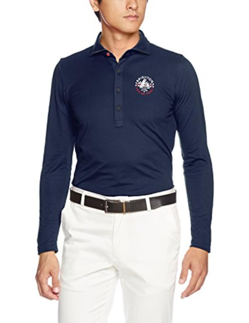 (キャロウェイ アパレル) Callaway Apparel 長袖 ポロシャツ ワンポイント (ハイブリッドマジック 採用 : 吸湿速乾) ゴルフ ウェア / 241-7256503 [ メンズ ]