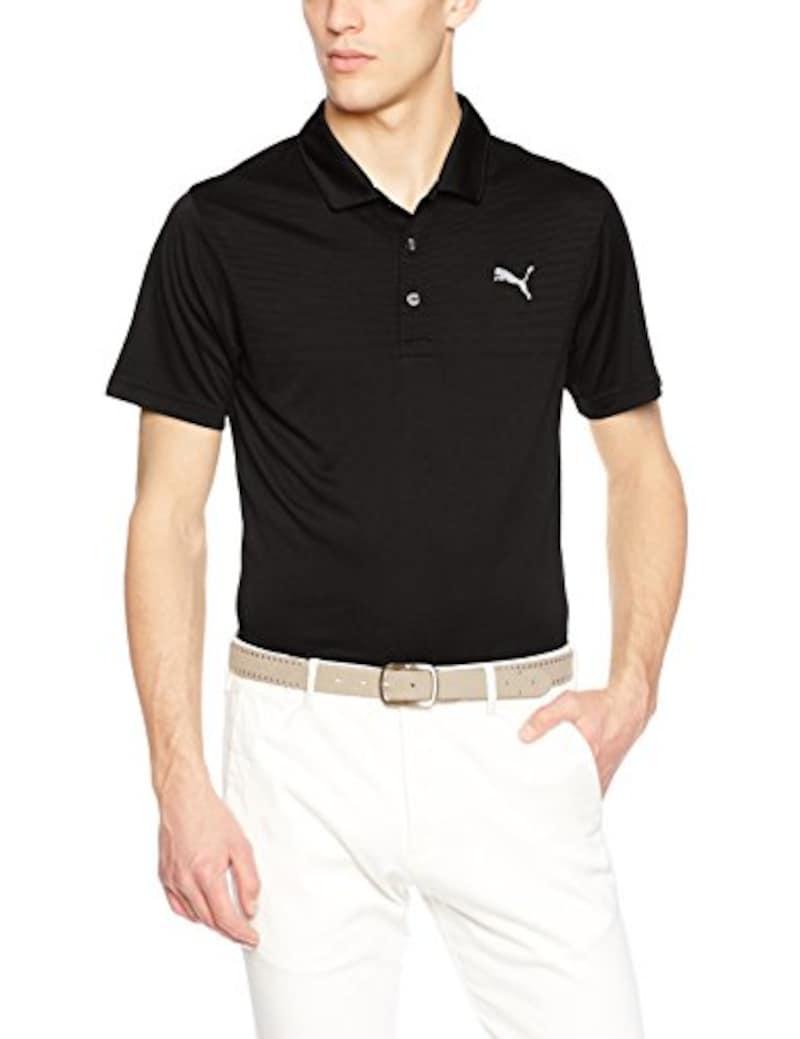 (プーマゴルフ) PUMA GOLF ゴルフウェア ボディ マップ ジャカード ポロシャツ 573639 [メンズ]