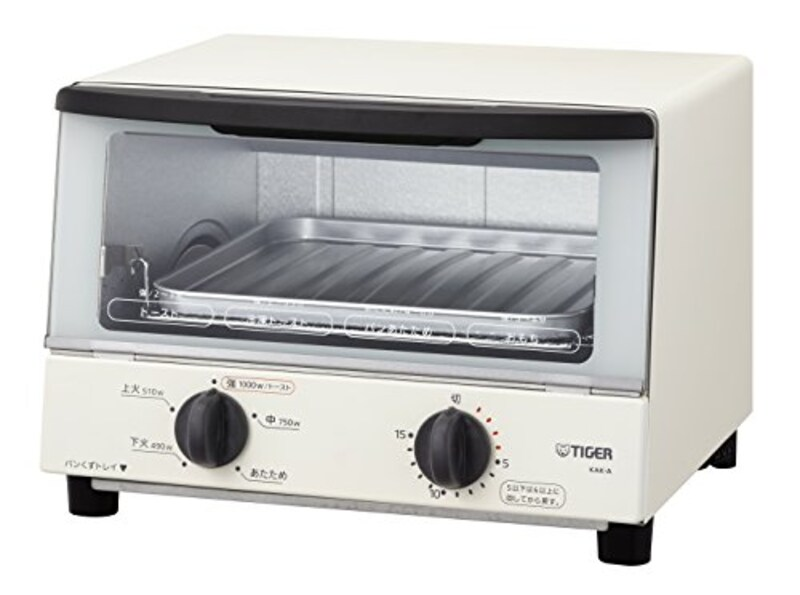 TIGER(タイガー魔法瓶株式会社),オーブントースター やきたて, KAK-A100-W
