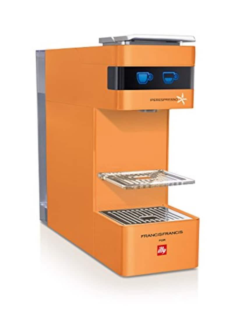 illy,エスプレッソマシン カプセル式,Y3 Orange