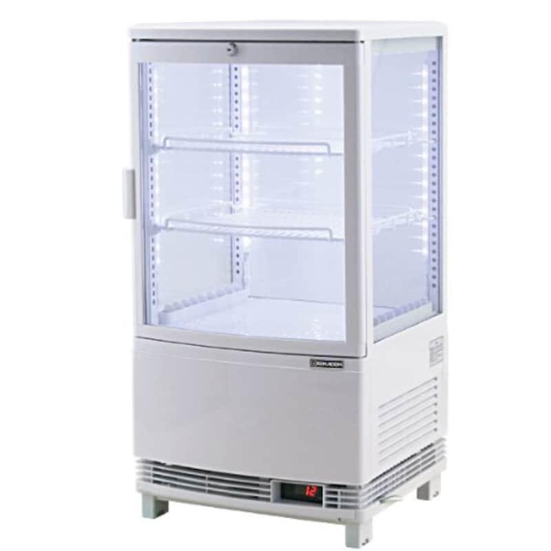 レマコム,4面ガラス冷蔵ショーケース,RCS-4G63SL