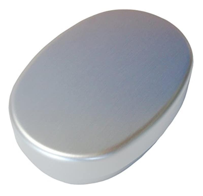 大一アルミニウム,アルミ弁当箱・小判型S(内フタ付)
