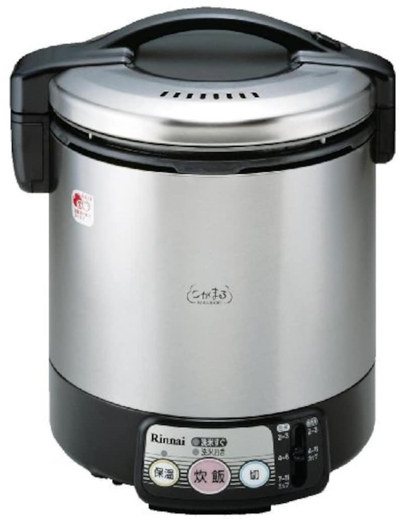 リンナイ,こがまる 電子ジャー付きガス炊飯器,RR-100VL-LP