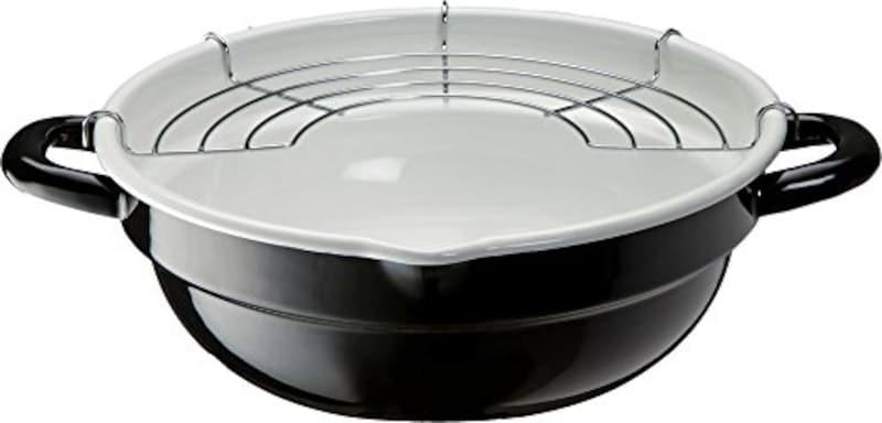 高木金属,天ぷら鍋,TP-24R-BW
