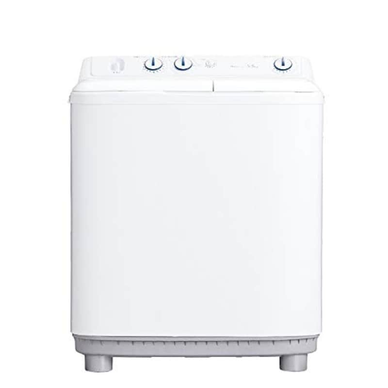 Haier(ハイアール),5.5Kg 二槽式洗濯機  ホワイト,JW-W55E-W