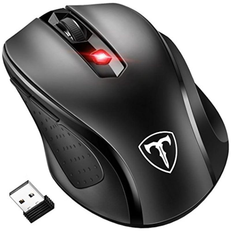 Qtuo,2.4G ワイヤレスマウス ,JQ-57