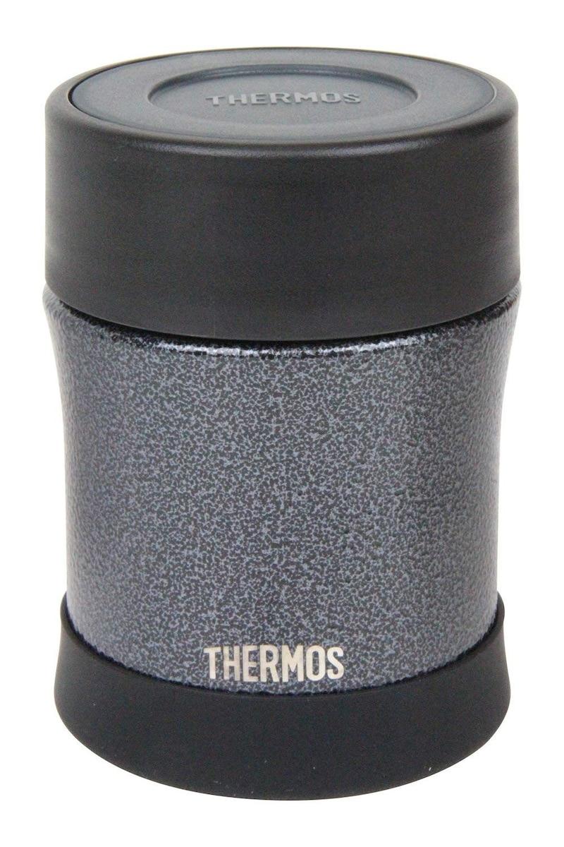 THERMOS,ハンマートンブラック 真空断熱スープジャー(0.5L) ,JBM-500WKHTB