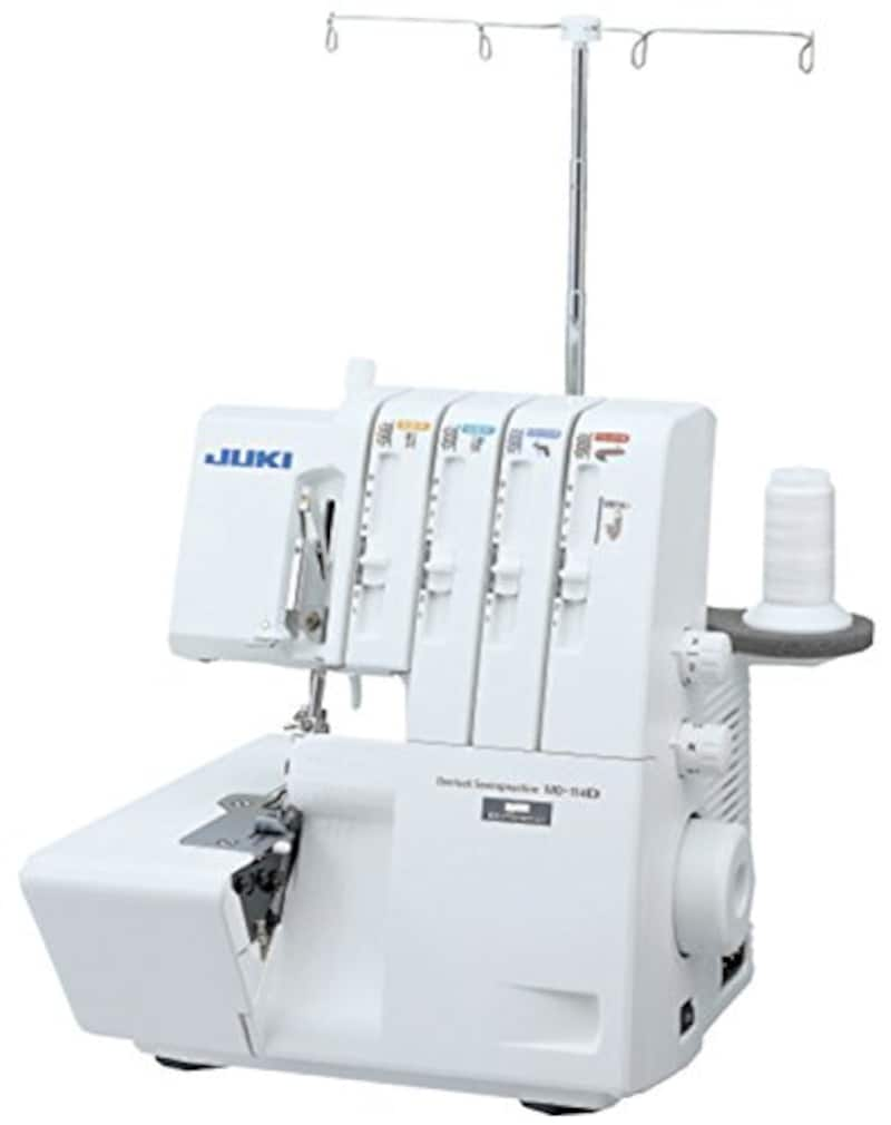 JUKI ,2本針4本糸差動送り付きオーバーロックミシン, MO-114D