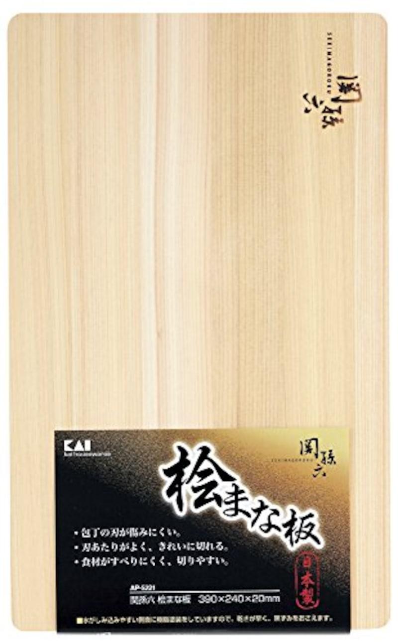 貝印,関孫六 桧 まな板,AP5221