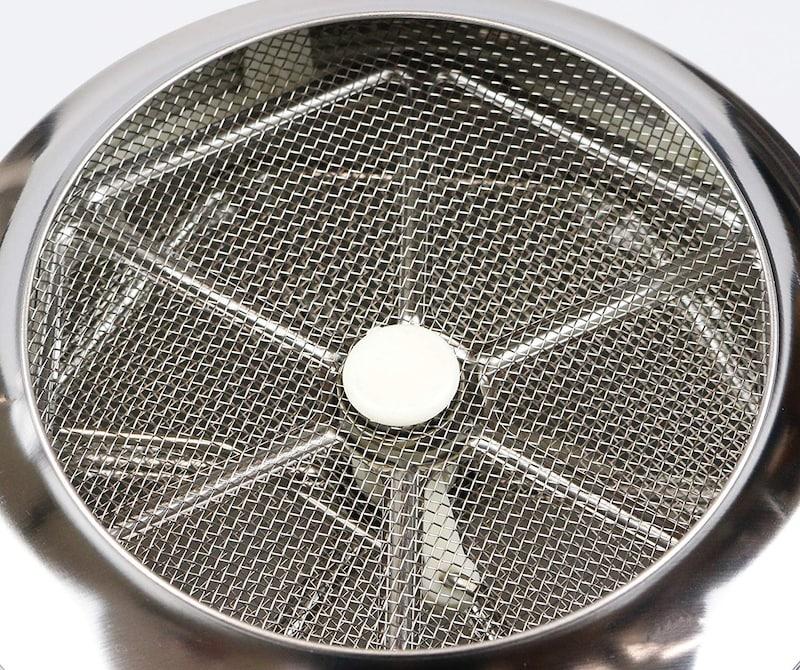 パール金属,EEスイーツ 2重アミ自動粉ふるい LL,D-4724