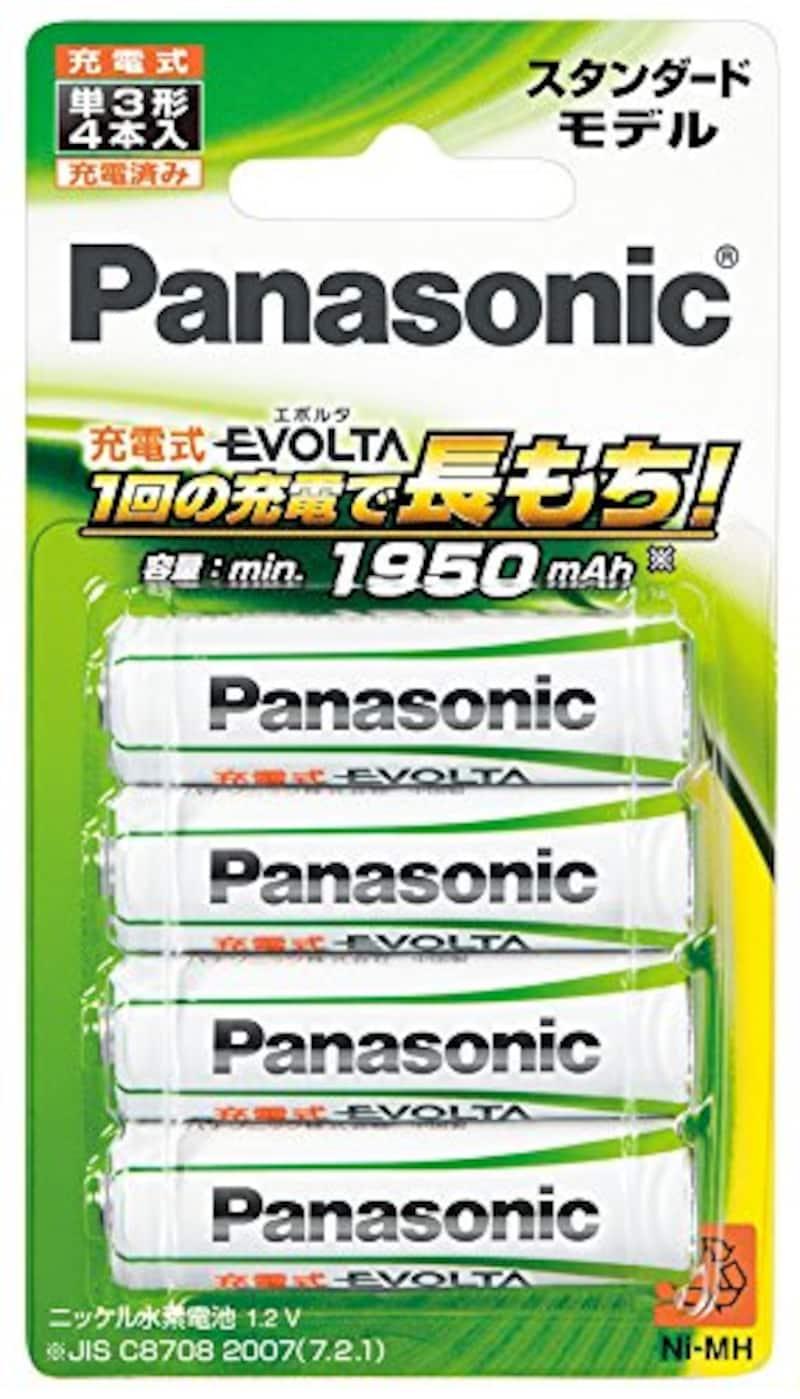 Panasonic,evolta 単3形4本パック,BK-3MLE/4B