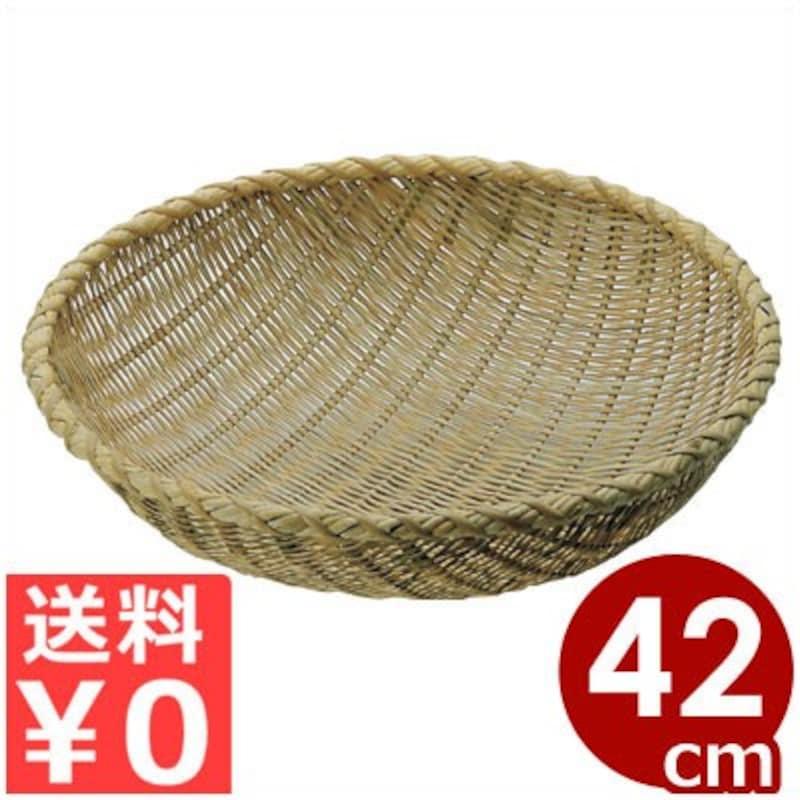 竹製 揚げざる 42cm,1038002