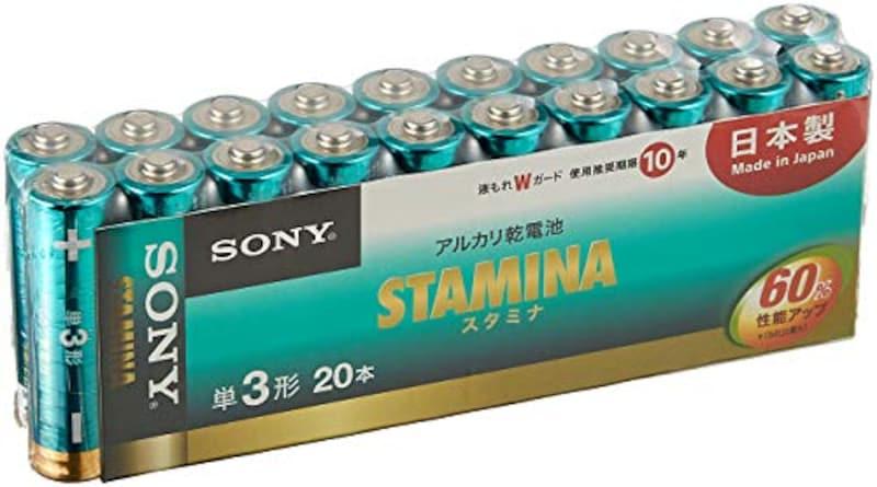 ソニー , SUTAMINA アルカリ乾電池