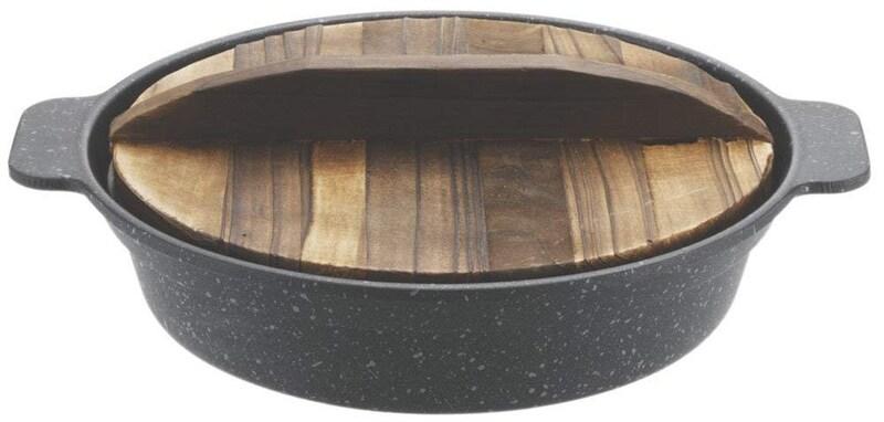 パール金属,ストロングマーブルすきやき鍋,H-5368