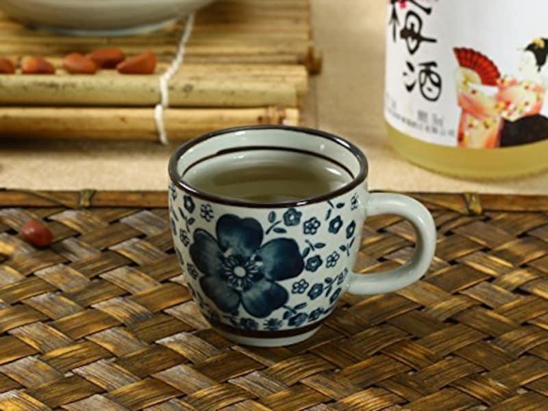 西田,エスプレッソコーヒーカップ(青い椿),120017