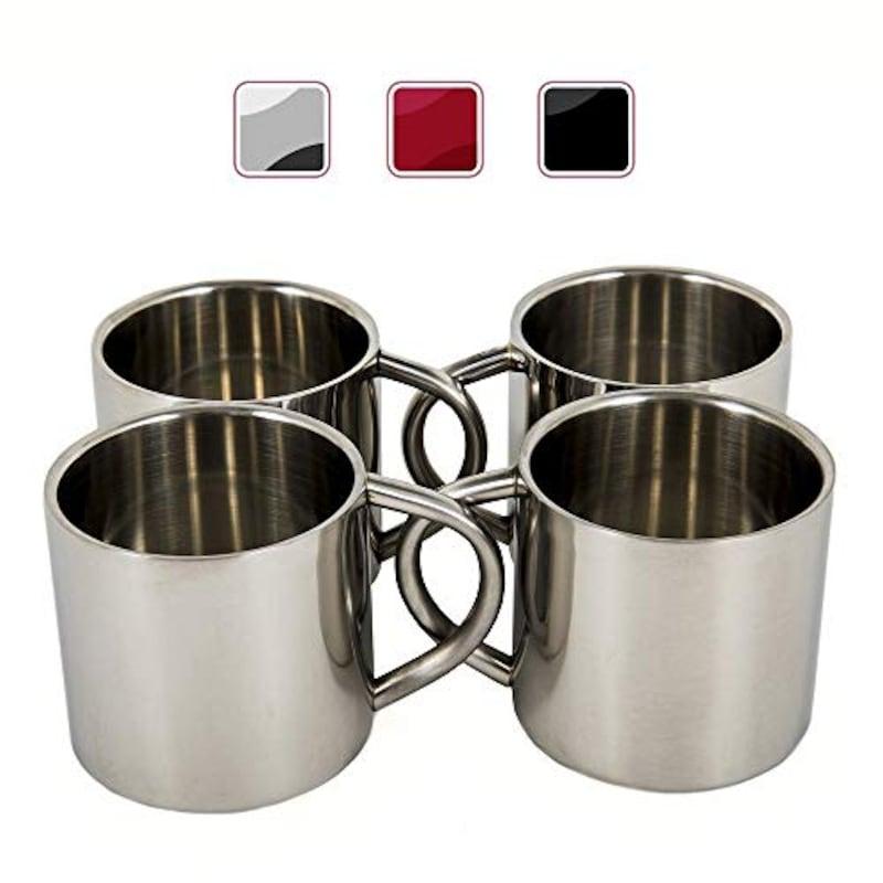 Farnsworth & Lloyd, Double Wall Espresso Cups,B074P8YKR2