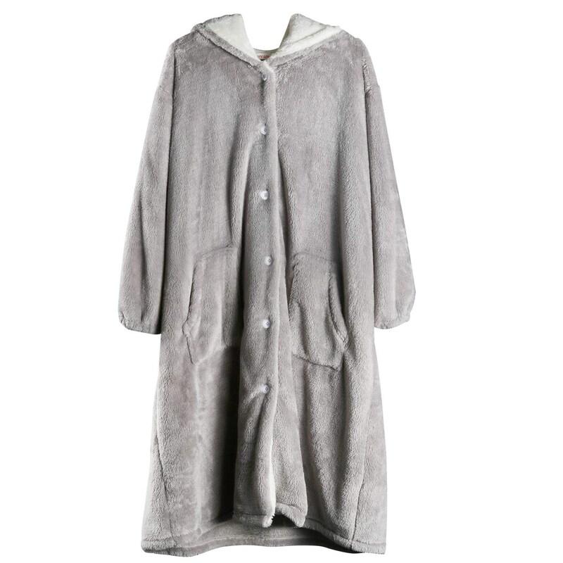 GreatCall マイクロファイバー 着る毛布