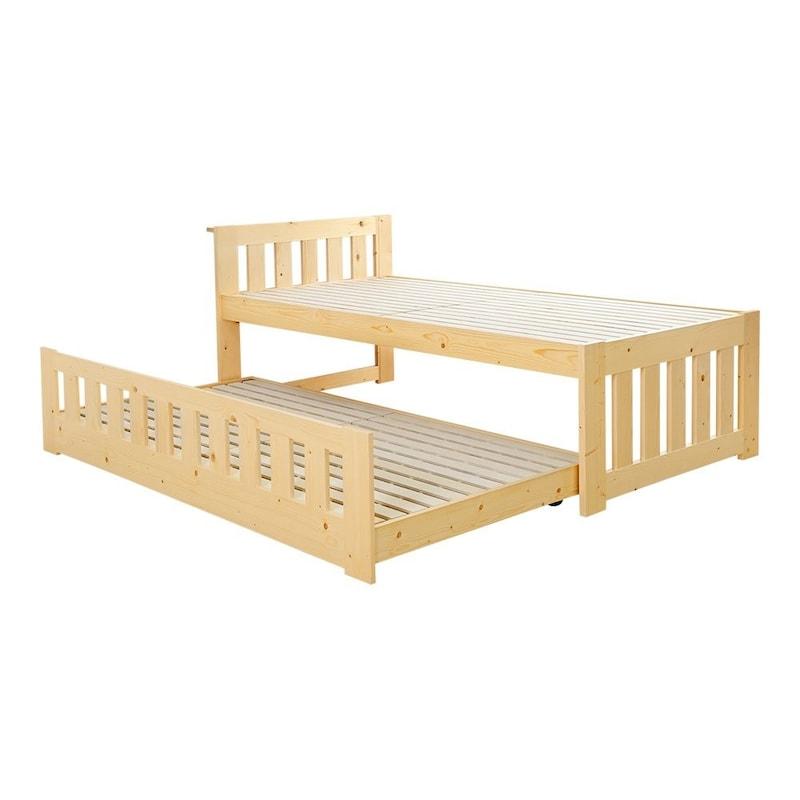 ホームテイスト,ずっと使える親子すのこベッドパンダ,HT-0545-WHW