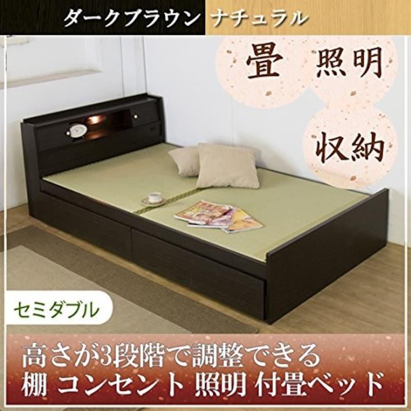 友澤木工,畳ベッド セミダブル,316