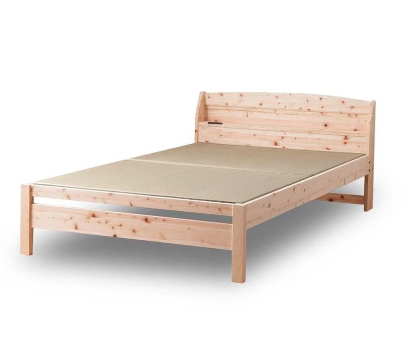 源ベッド,ひのきベッド,tcb242-s