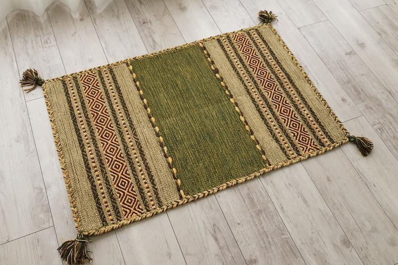 サヤンサヤン,インドキリム玄関マット,Indiankilim-gn5080