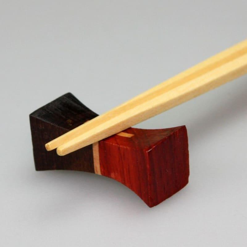 三好漆器,寄木箸置き,ha-190