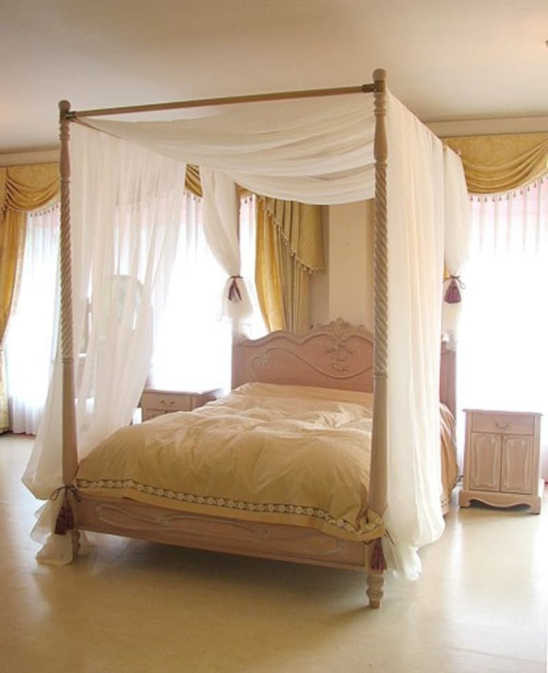 ウエストハウスギャラリー,天蓋付きベッド,bed061