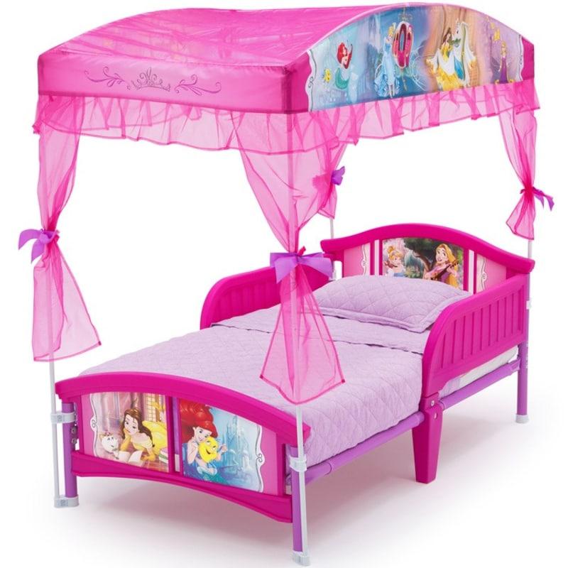 Delta,Princess Toddler Canopy Bed,bb87136ps