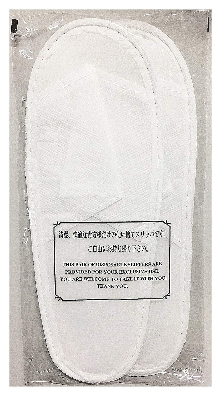 三和,文字入り個包装使い捨てスリッパ 10足セット,YZ0003-10