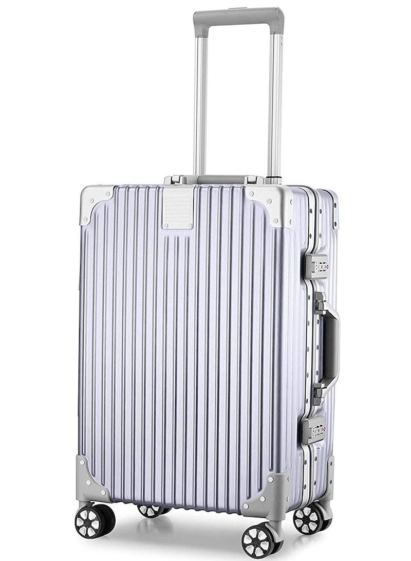 ASVOGUE(アスボーグ),半鏡面仕上げ アルミフレームスーツケース ,43219-6042