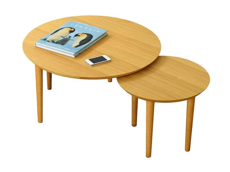 高野木工,BALLOON バルーン 2枚テーブル,69-2 WO
